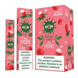 Pop Disposable Iced Lychee