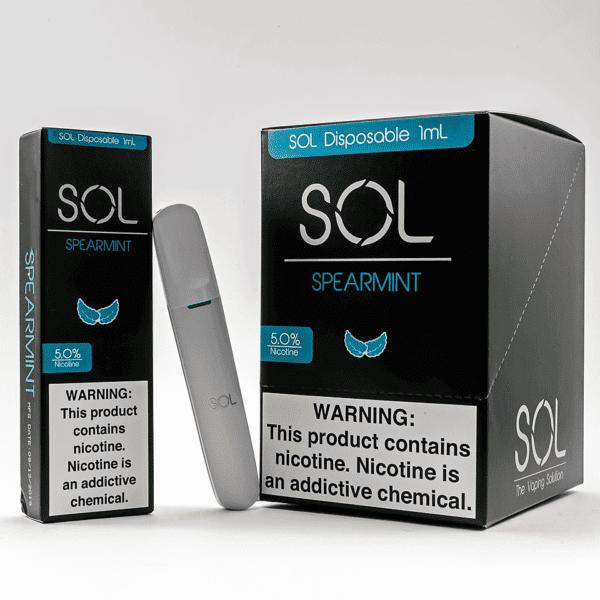 Sol Disposable Spearmint 10pk