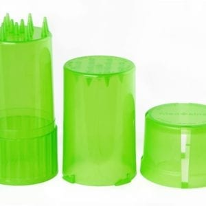 Medtainer-Storage-Container-w/-Built-In-Grinder-Green