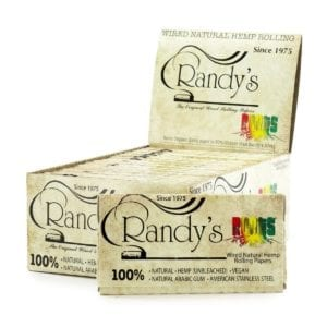 Randy's Rolling Papers King Sized Roots Hemp Box