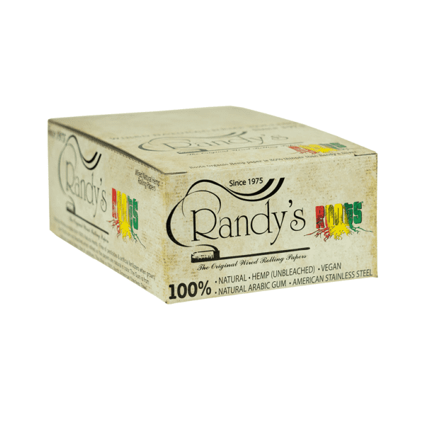 Randys Rolling Papers Classic Roots Hemp Box