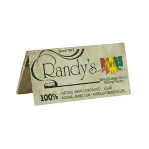 Randys Rolling Papers Classic Roots Hemp Pack