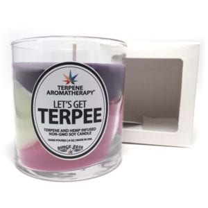 Terpee Candles Tri Color Grandaddy Purps