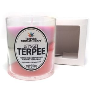 Terpee Candles Tri Color Space Queen