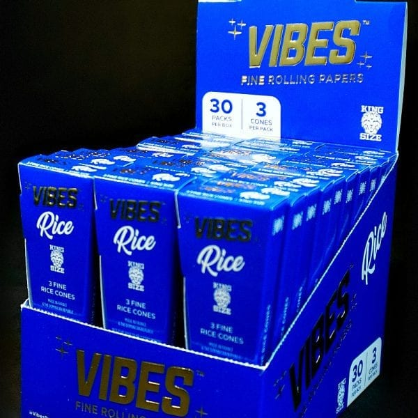Vibes Cones Box King Size Rice