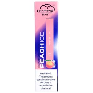 Hyppe Bar Disposable Peach Ice