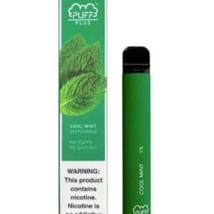 Puff Plus Disposable Cool Mint