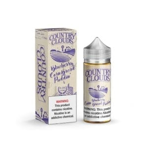 Country Clouds Blueberry Cornbread Puddin'