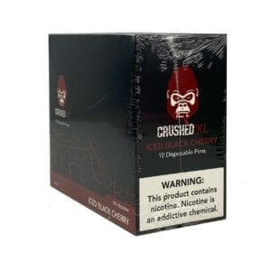 Crushed Xl Disposable Iced Black Cherry