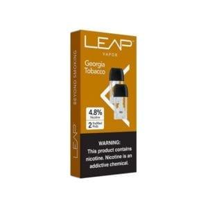 Leap Vapor Georgia Tobacco Pods