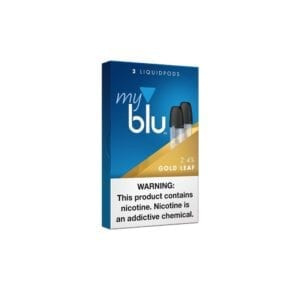 Myblu Gold Leaf Tobacco Liquid Pods