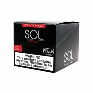 Sol Feelm Pods Tobacco Red 5% 5 Pack