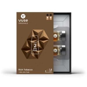 vuse alto rich tobacco 1.8 2 pack