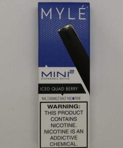 Myle Mini 2 Iced Quad Berry