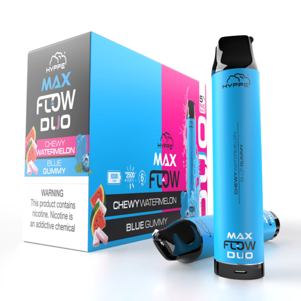 hyppe flow max tank duo blueberry watermelon