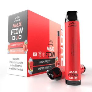hyppe max flow tank duo lush freeze peach freeze
