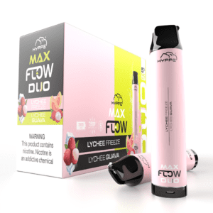 hyppe max flow tank duo lychee freeze lychee guava