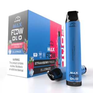hyppe max flow tank duo strawberry blue razz freeze