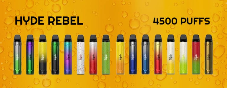 Hyde Rebel Rechargeable Disposable Device- Same Day